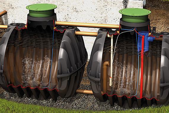 Graf Klaroeasy és Graf One2Clean szennyvíztisztító berendezések fő előnyei